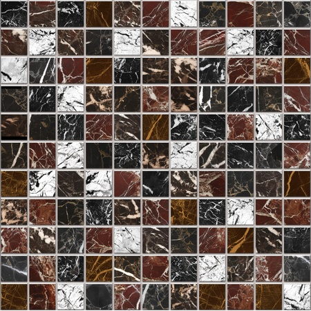 floor texture: Marble mosaic decor bacground