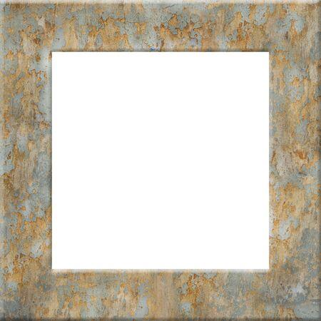 grunge frame: Vintage frame board Stock Photo