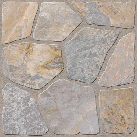 piso piedra: piedra con grandes piezas
