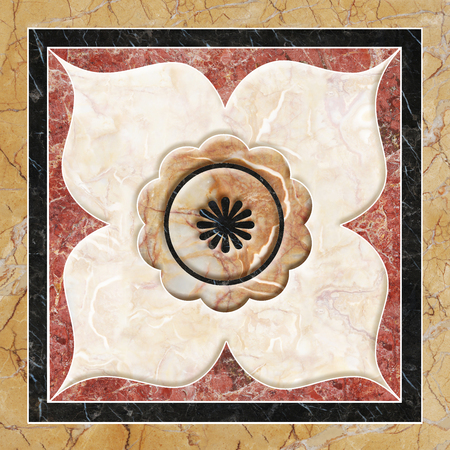 craft on marble: Antique, decor for floor or wall