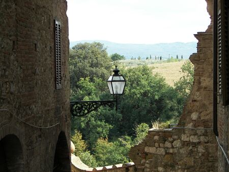Collevaldelsa a Tuscany little town