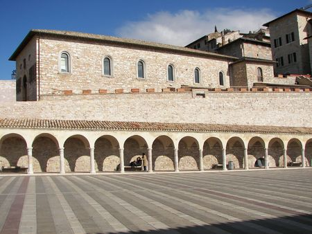 Assisi a little town from cental Italy Umbria The place where Saint francisco came to life Stock Photo - 3106492