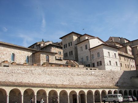 Assisi a little town from central Italy Stock Photo - 3144016