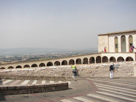 Assisi a little town from central Italy Stock Photo - 3144001