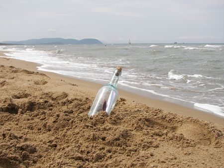 The letter in the bottle  photo