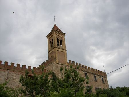 The Bolgheri casttle Tuscay central Italy photo