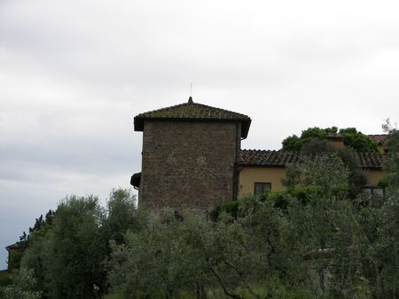 proclaimed: The old village of Artimino from Central Italy the medieval tower