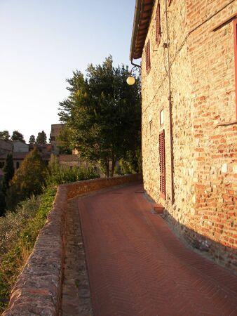 Certaldo panorama photo