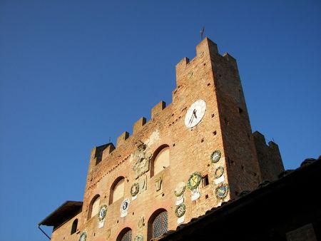 priori: medievale casa Archivio Fotografico