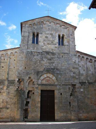 The church of Abbadia Isola