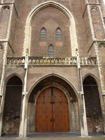 pluviometro: Iglesia g�tica Foto de archivo