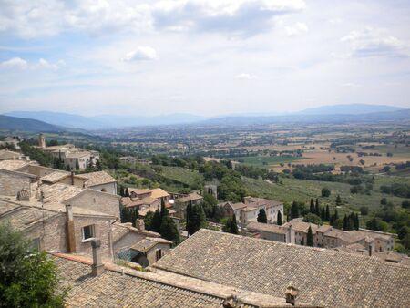 Assisi landscape photo