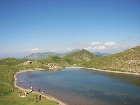Lake Scaffaiolo photo