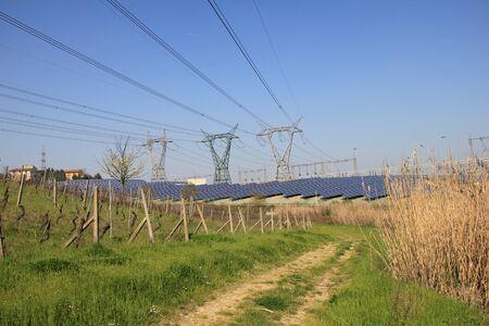 Photovoltaic energy farm photo