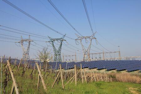 Photovoltaic energy farm