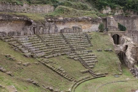 Volterra remains of Roman Amphitheatre