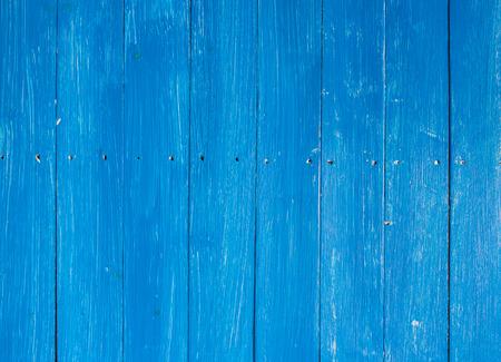 Blue wood plank wall texture or background 版權商用圖片