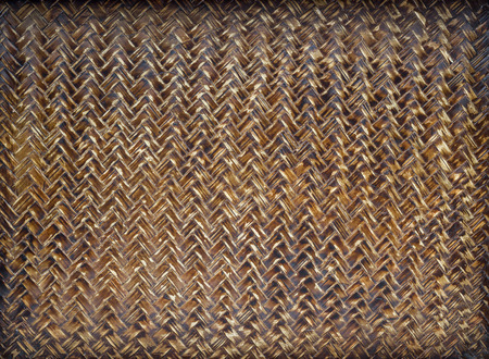 The brown bamboo texture background, Thai style.
