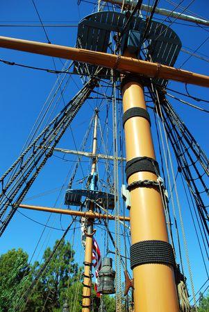 Ships Mast Stock Photo - 2998224