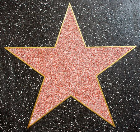 Hollywood Star Stock Photo - 2998207