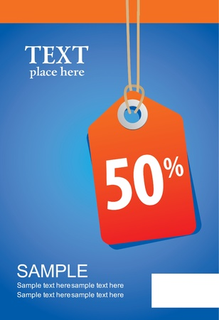 Sale Tag illustration Vector