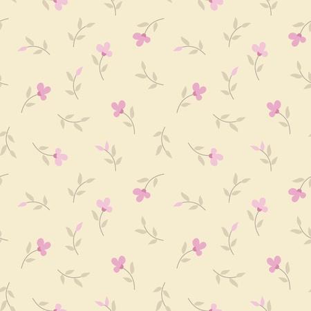 fondos colores pastel: patr�n de vectores sin fisuras con las flores