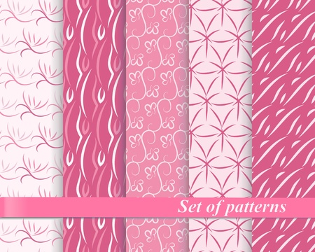 Set of seamless patterns  Stock Vector - 13567124
