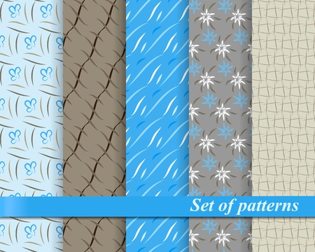 compendium: Set of seamless patterns