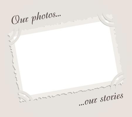 album: Vintage frame