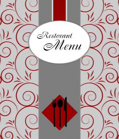 Restaurant menu design Stock Vector - 13962337