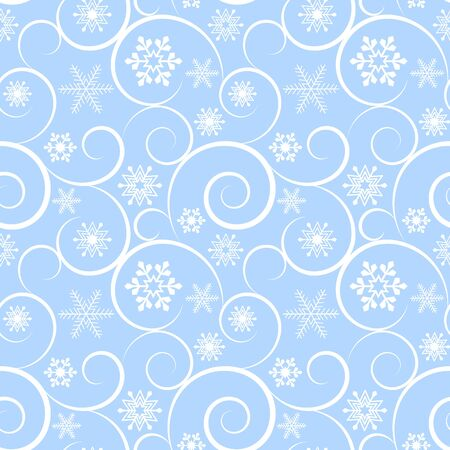 Winter christmas seamless background Vector