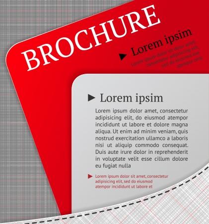 Moderne brochure ontwerp