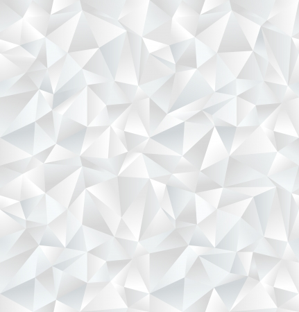 triangle: Abstract white geometric seamless pattern  Vector Illustration