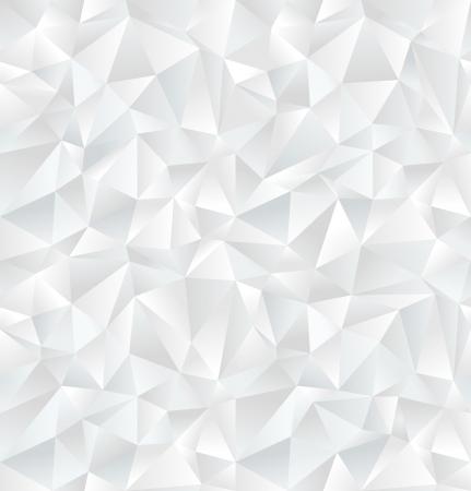 Abstrakte weiße geometrische seamless pattern Vektor-Illustration