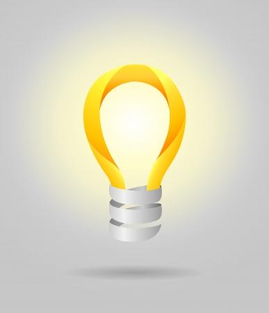 Light lamp bulb  concept Stock Vector - 19137101