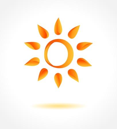 sun  Creative concept  Stock Vector - 19497374