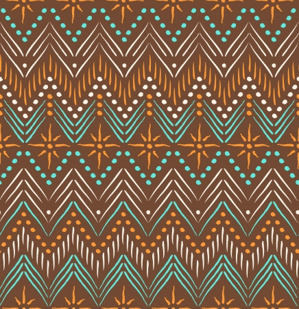 Tribal ethnic seamless pattern Stock Vector - 19937642