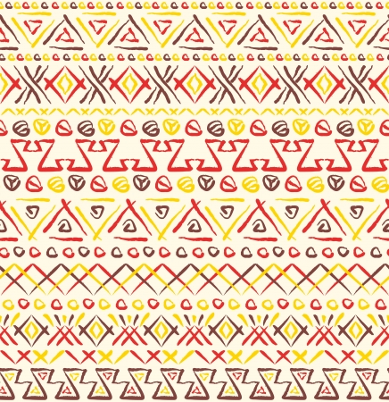 Tribal ethnic seamless pattern Stock Vector - 20456381