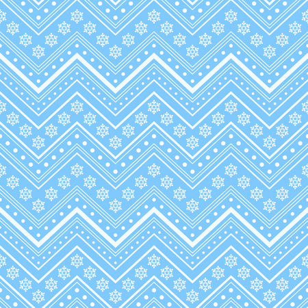 Blue winter christmas seamless background Vector