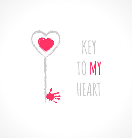 Key to my heart Vector