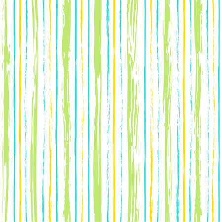 simple geometry: Colorful stripes seamless pattern. Abstract background with hand drawn stripes. Vector watercolor lines background. Illustration