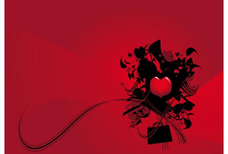 christmas perfume: Vector background, We love shopping, we love fashion. Illustration