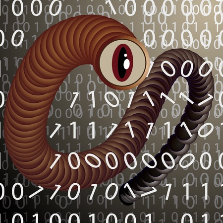 spyware: A virus attacking the data stored on a computer