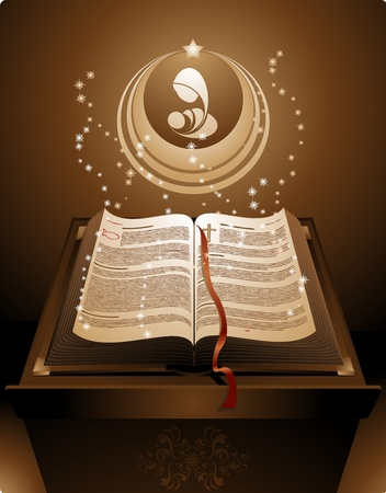 The New Testament in the Holy Bible Vector