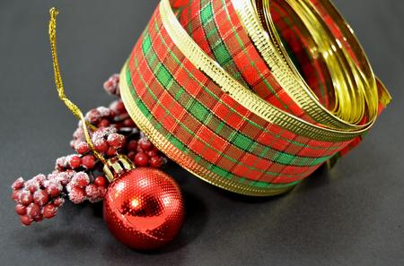 Différentes décorations de Noël