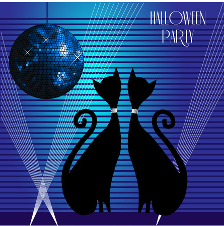 cats party Stock Vector - 6476008