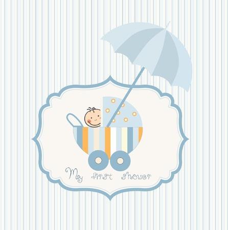 baby shower announcement Stock Vector - 9168195