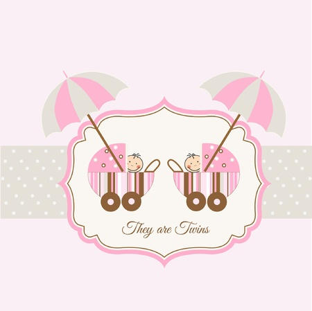 gemelas: tarjeta de presentaci�n de gemelos