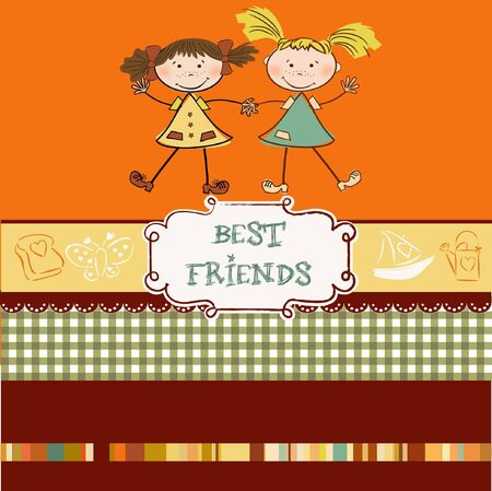 maverick: two little girls best friends