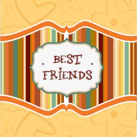 best friends: best friends card